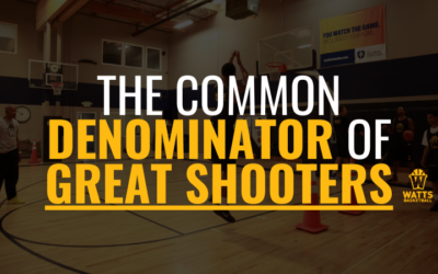 The Common Denominator of Great Shooters