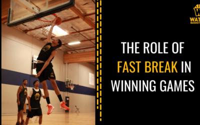The Role of Fast Break in Winning Games
