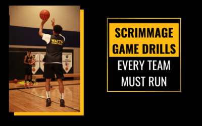 Scrimmage Game Drills Every Team Must Run