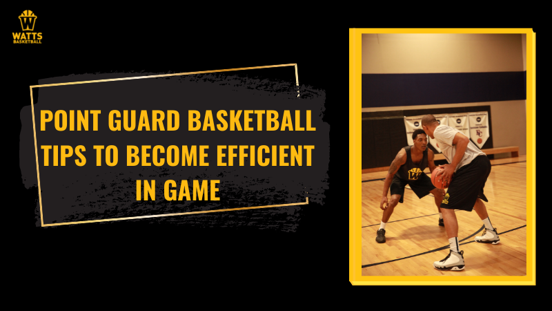Point Guard Basketball Tips to Become Efficient in Game