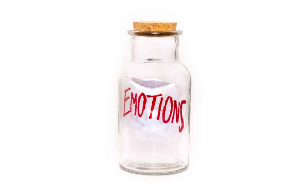 Bottled up emotions lead to frustration shutdown