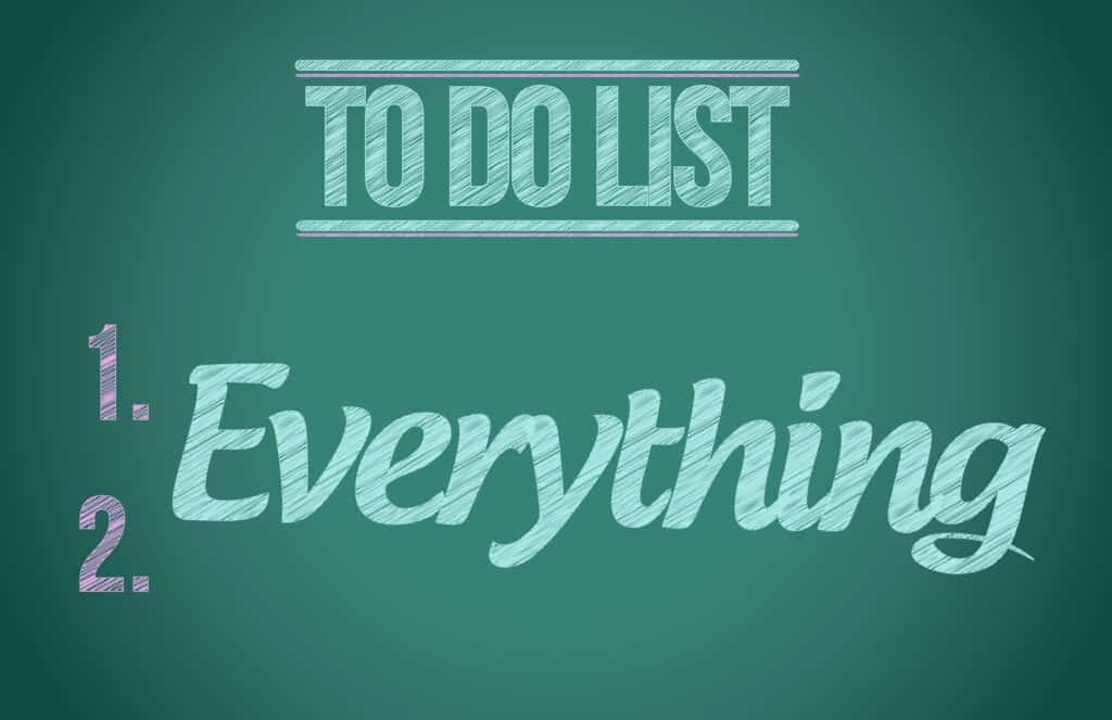 To do list - Everything