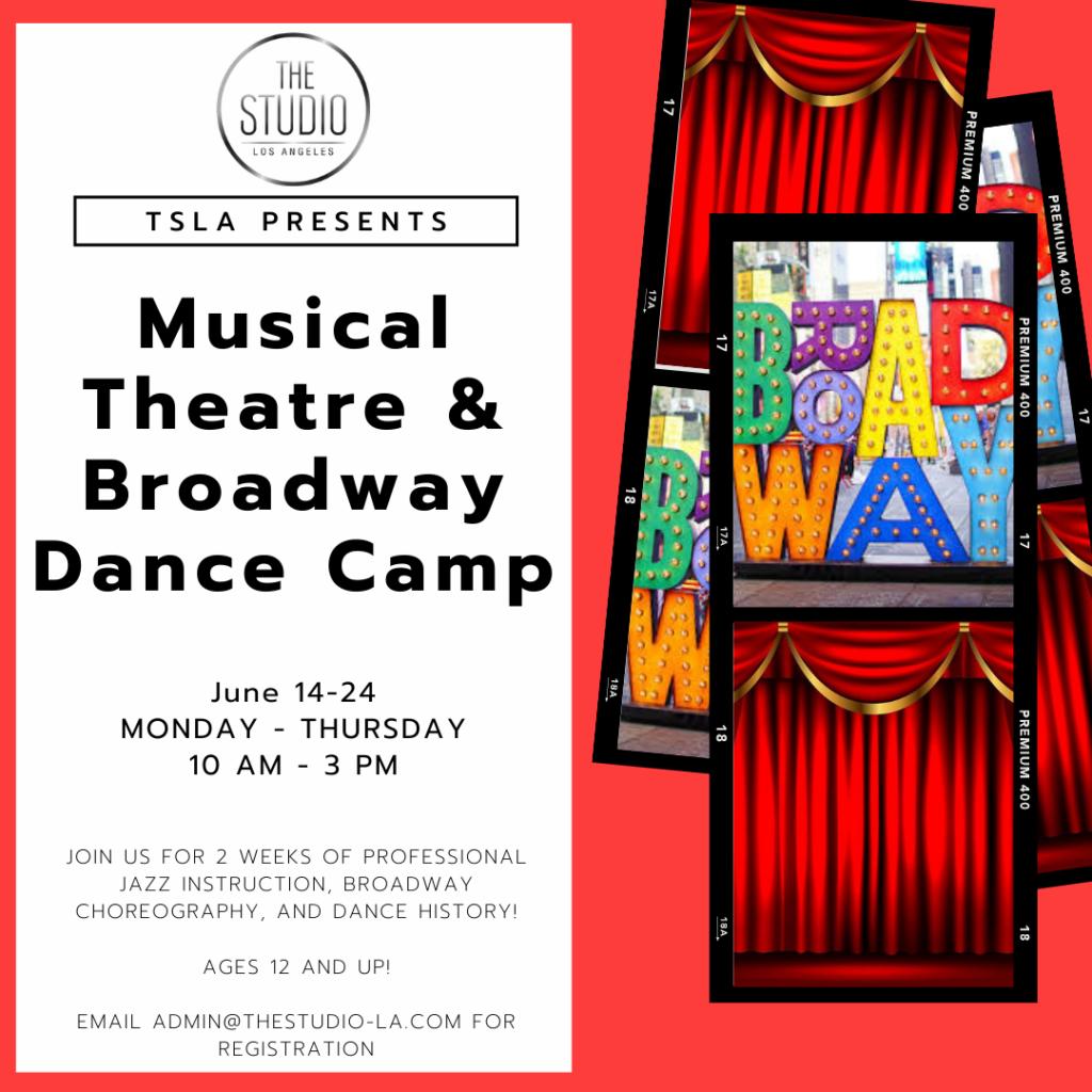 Musical Theatre & Broadway Dance Camp