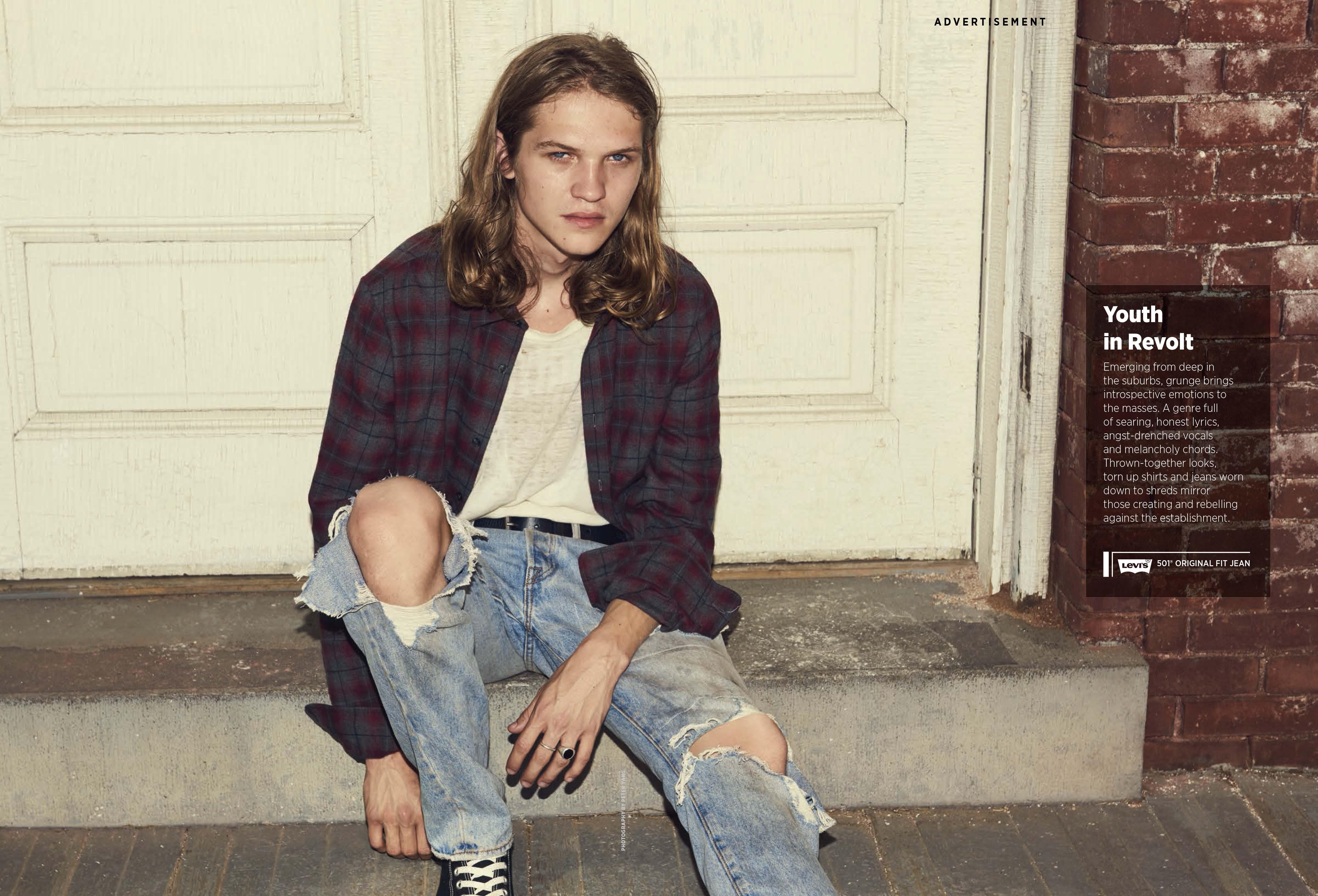 Levi's x Rolling Stone