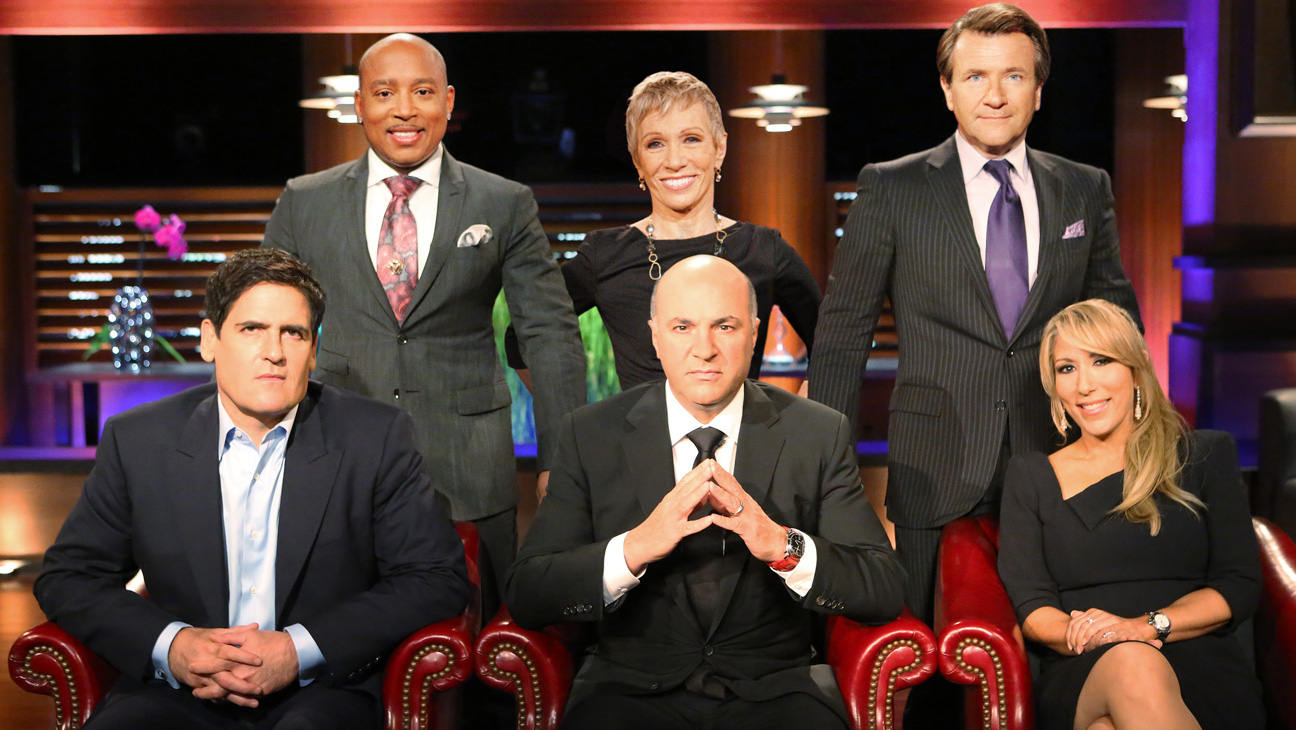 "SHARK TANK weight loss product - Mark Cuban, Daymond John, Barbara Corcoran, Kevin O'Leary, Robert Herjavec and Lori Greiner are ""Sharks"" on ABC's ""Shark Tank."" (ABC/ADAM TAYLOR)"