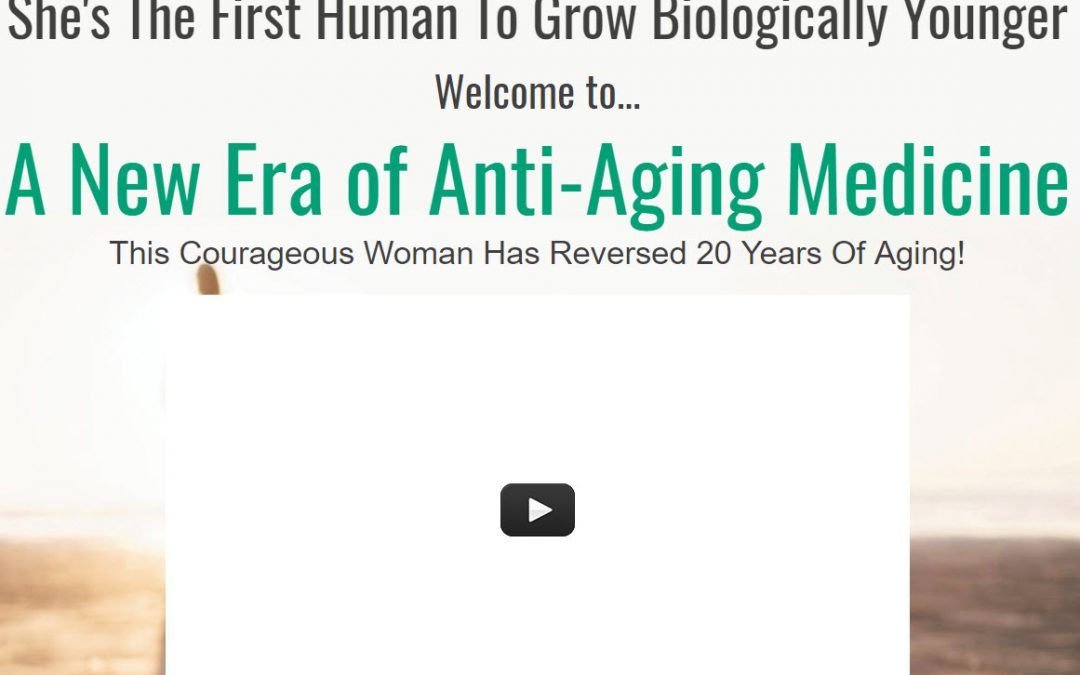 """Anti-Aging"" no longer means injections, trips to the dermatologist or plastic surgery"
