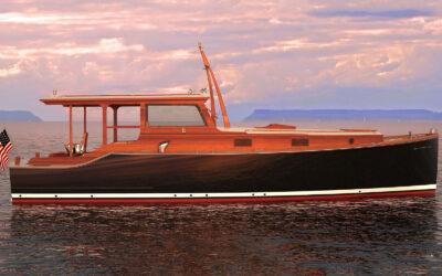 Wheeler 38 by Brooklin Boat Yard