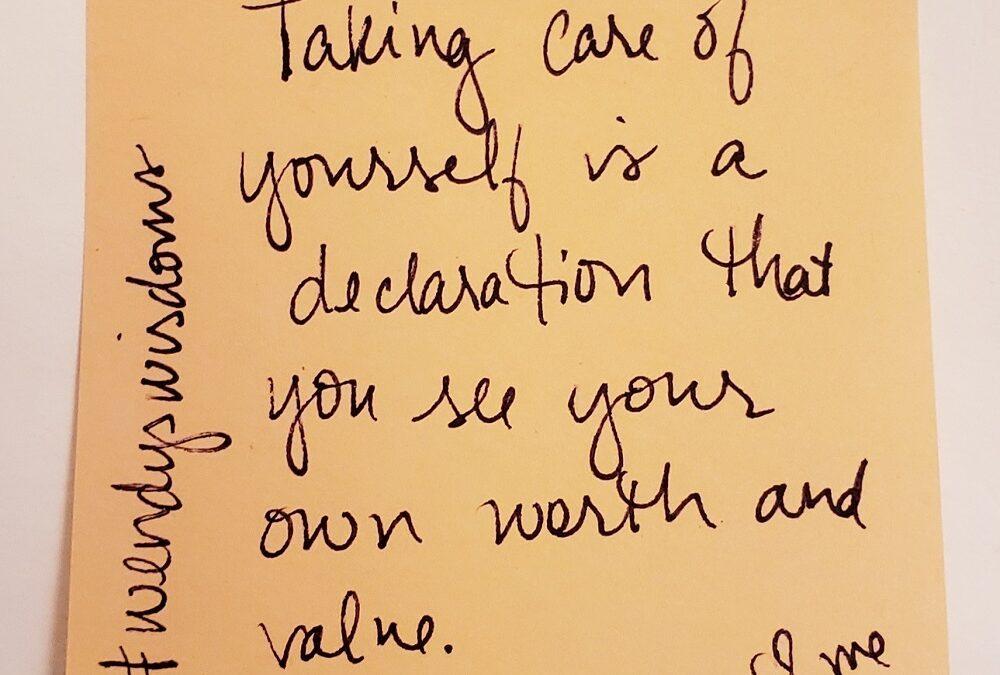 Declaration of Worth