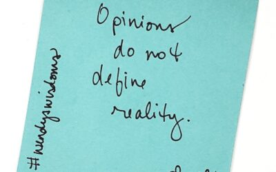 Opinions Are Like…