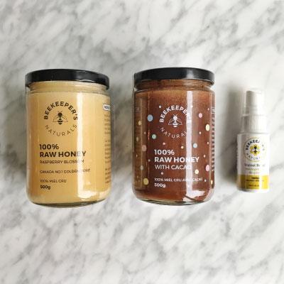 Beekeepers Naturals Honey