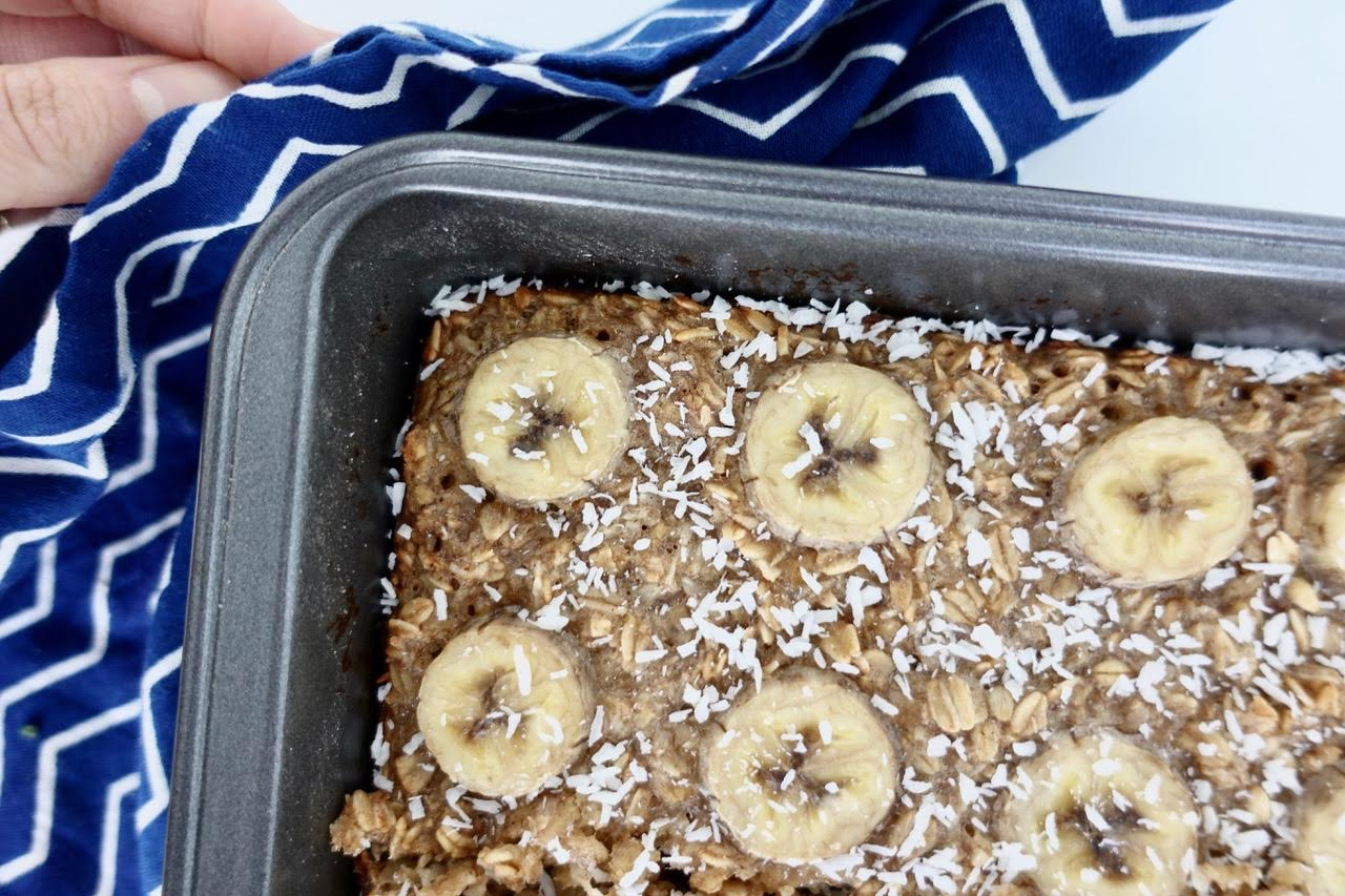 Super Simple Baked Oatmeal