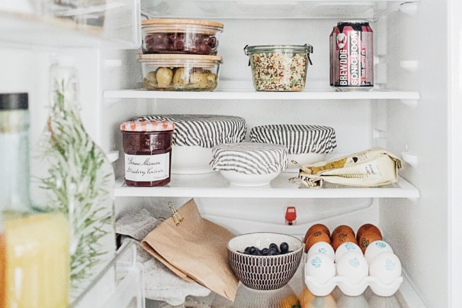 A look inside the fridge of some trendy diets