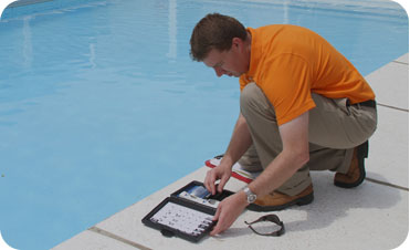 At Florida Pool and Leak, the inspection we perform is a visual and operational inspection of the pool and equipment. An average inspection takes about an hour, sometimes less, often a little longer.