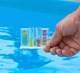 Pool shock and algaecide should also be used regularly. Using the correct chemicals at the recommended amount will help you prevent algae from ever blooming in your pool. Read package instructions carefully. Call Florida Pool and Leak today for more information.