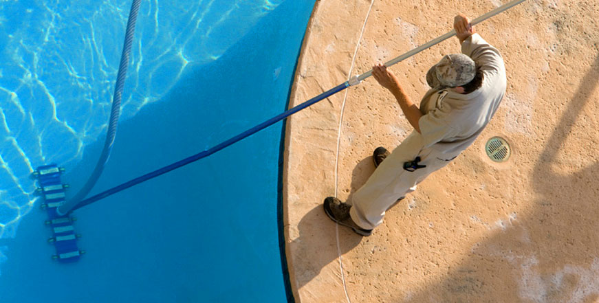 Don't run your pump 24/7. On an average day, running your pump for 8-12 hours is sufficient. Granted, you may run it for longer after a party, but if you are running your pump all day, every day, you are unnecessarily hiking your electric bill. Visit the Florida Pool and Leak blog for tips.