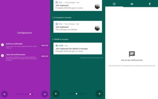 WAMR es la mejor app de Whatsapp para poder leer mensajes eliminados