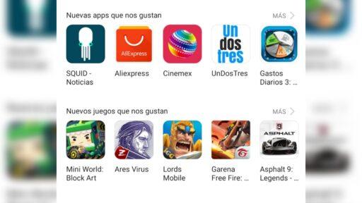App Gallery es una de las alternativas a Google Play Store