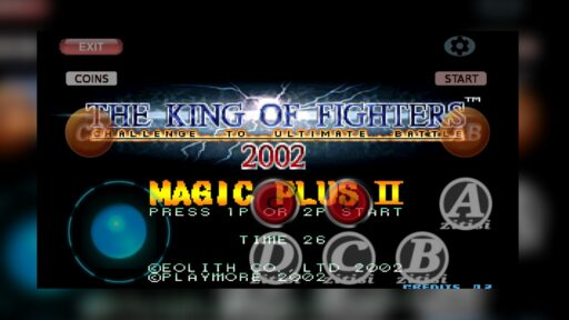 Asi lucen las capturas de el juego The King Of Fighters en Android