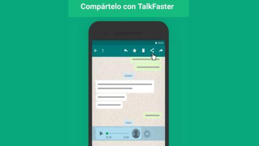 Como REPRODUCIR los AUDIOS de Whatsapp mas Rapido: Aplicacion android.