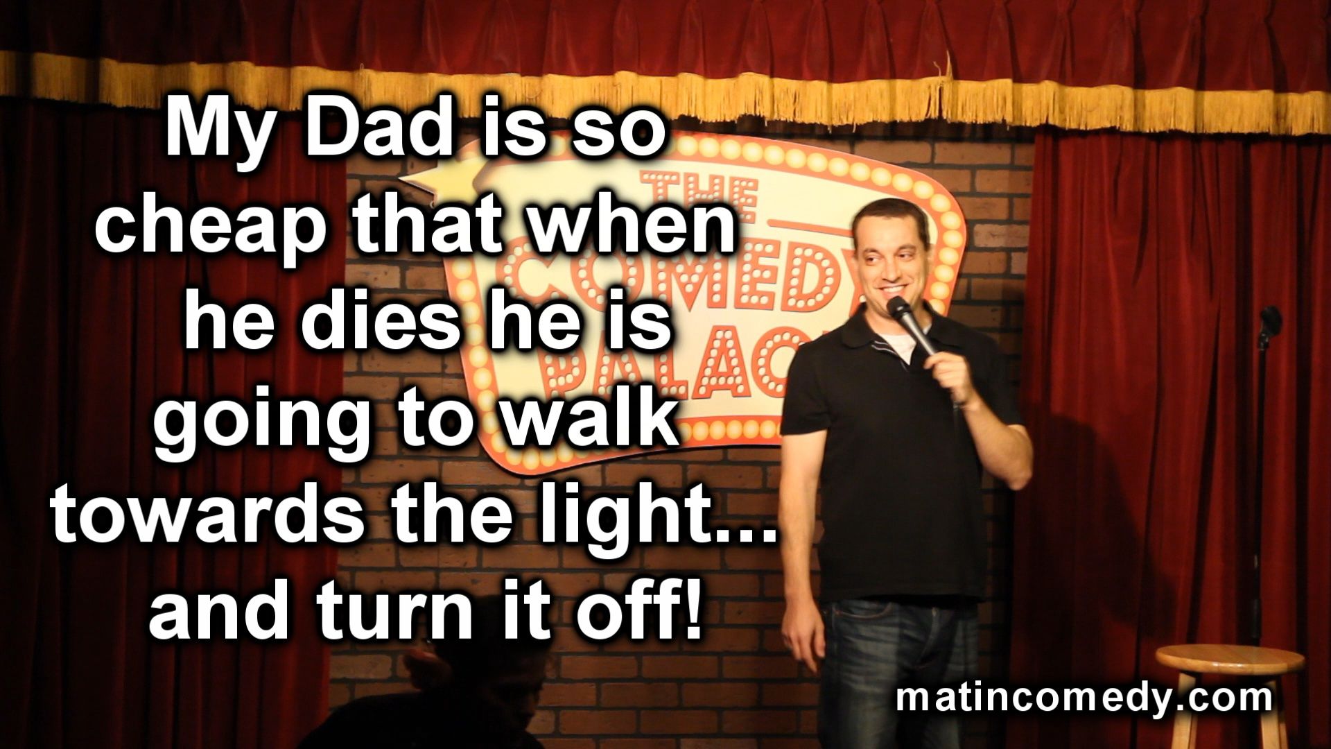 Stand-Up Comedy - Cheap Dad