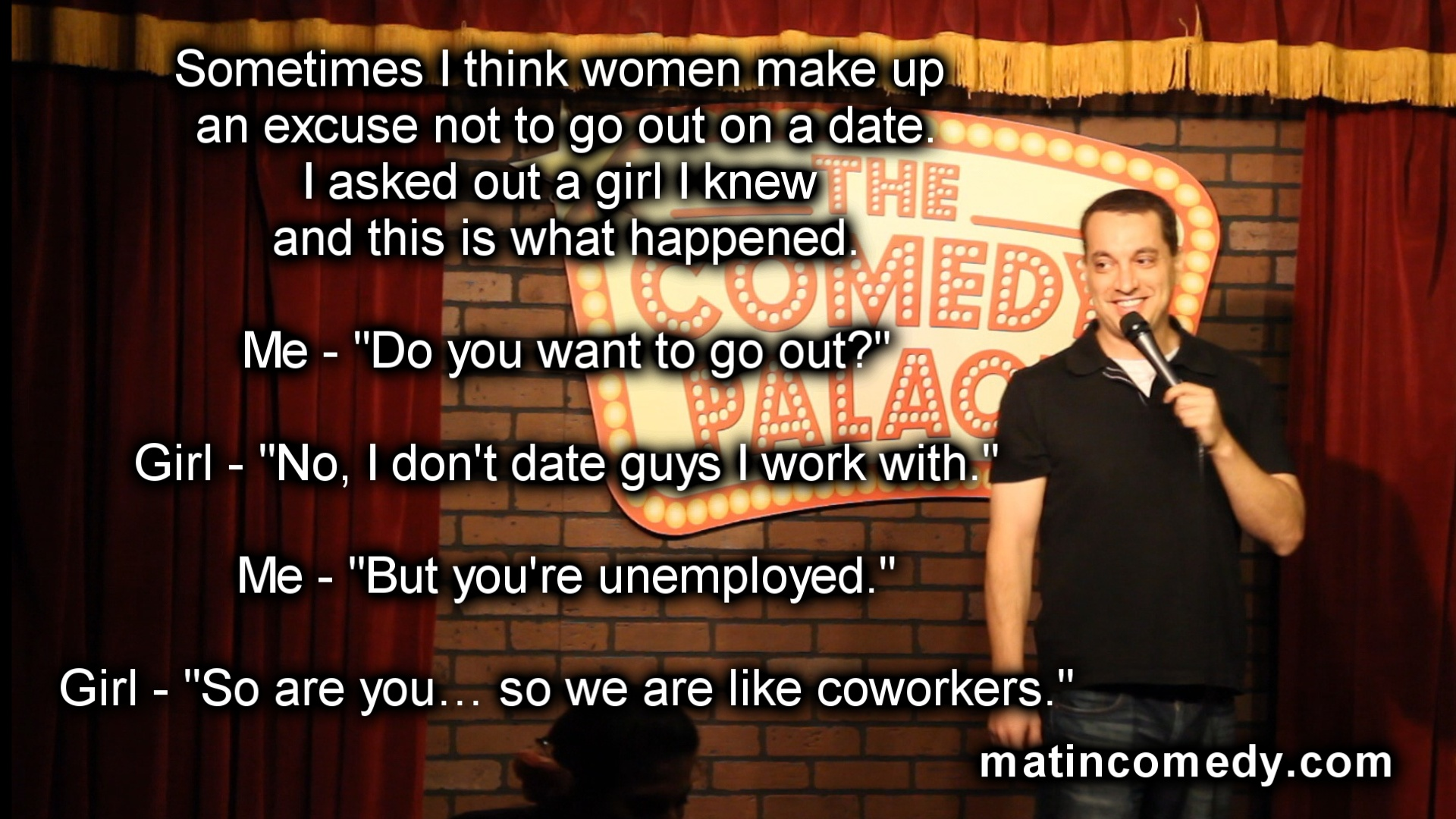 Stand-Up Comedy - Women Make Up Excuses