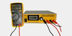 Specific Electrical Coating Resistance Tester