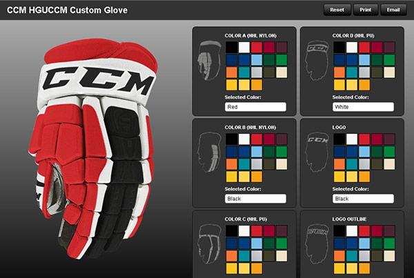 Hockey Glove Customizer