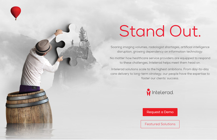 Event Landing Page for Intelerad