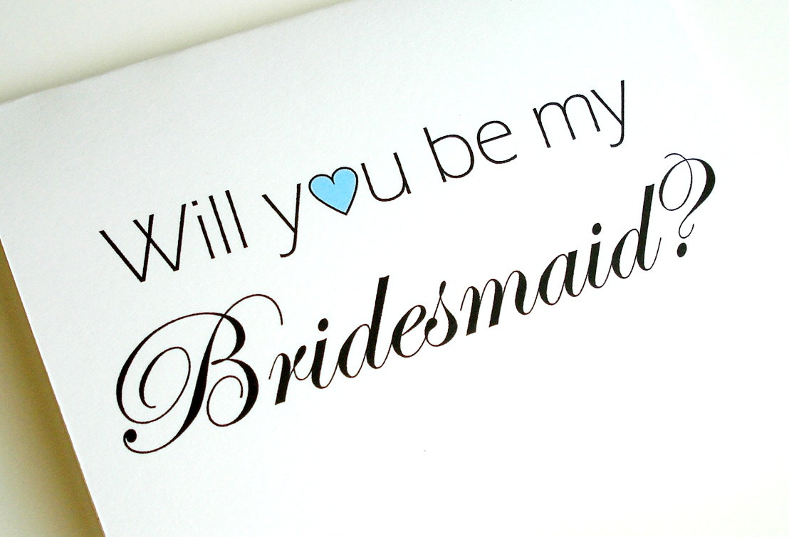 """Ask a Professional Bridesmaid: Can I Respond """"Maybe"""" When Asked to Be a Bridesmaid?"""