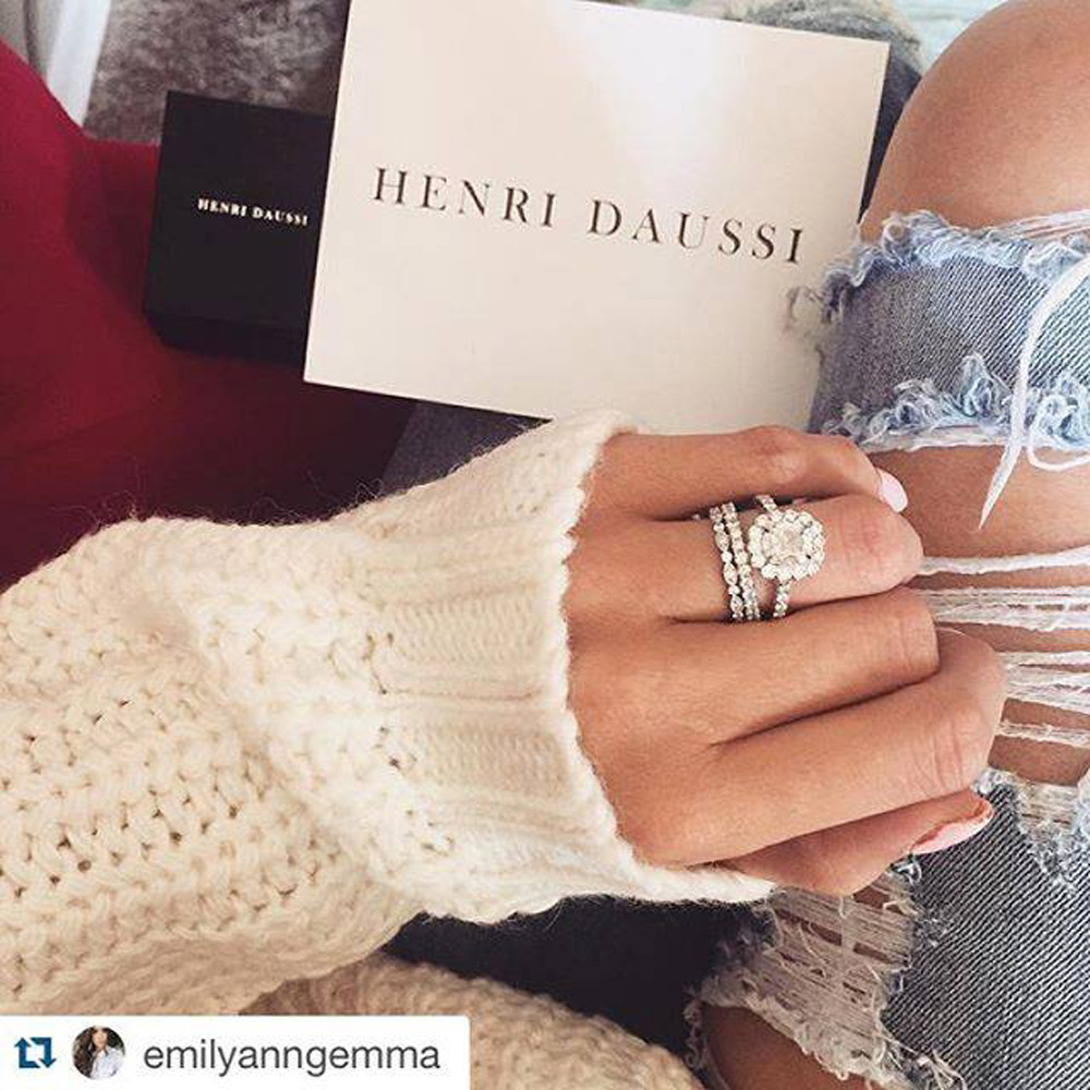 The Henri Daussi Wedding Bands You'll Want to Say I DO To!