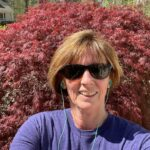 Congratulations to Mrs. DeLass on completing her Greyhound Gallop 5K and being the first one to submit her photos!! Way to go!!!
