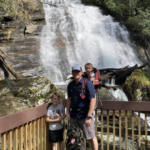 We are so proud of our Greyhounds taking part in the virtual 5K! Here's Ryan from Mrs. Hanna's 1st grade, his dad, little brother Reid and dog Duke clocking their miles hiking at Anna Ruby Falls. Great job!! 👏👏👏