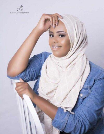 Bushra Isaaq Mohammed - Miss Somalia