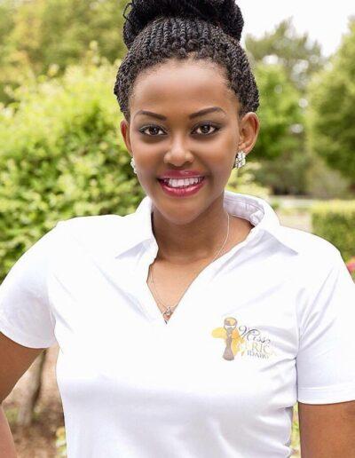 Chanice Mwamba - Miss Uganda