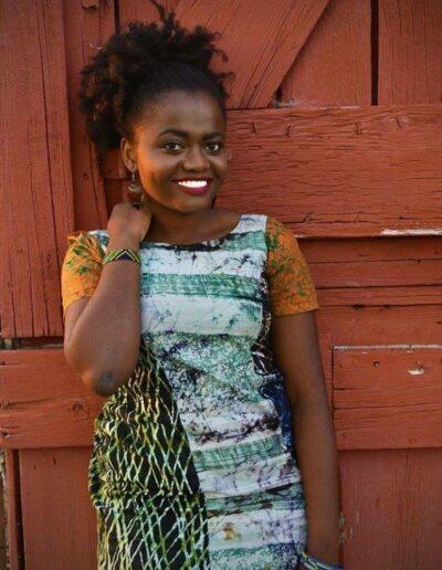 Olivia Balemba - Miss Tanzania