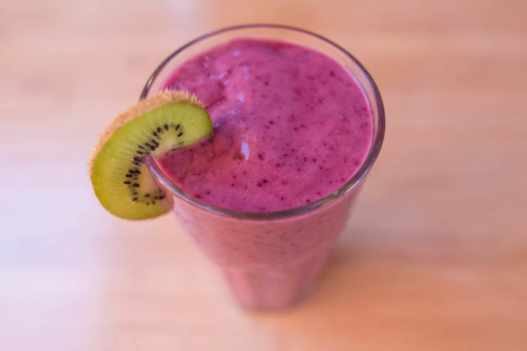 fruit smoothie coconut water