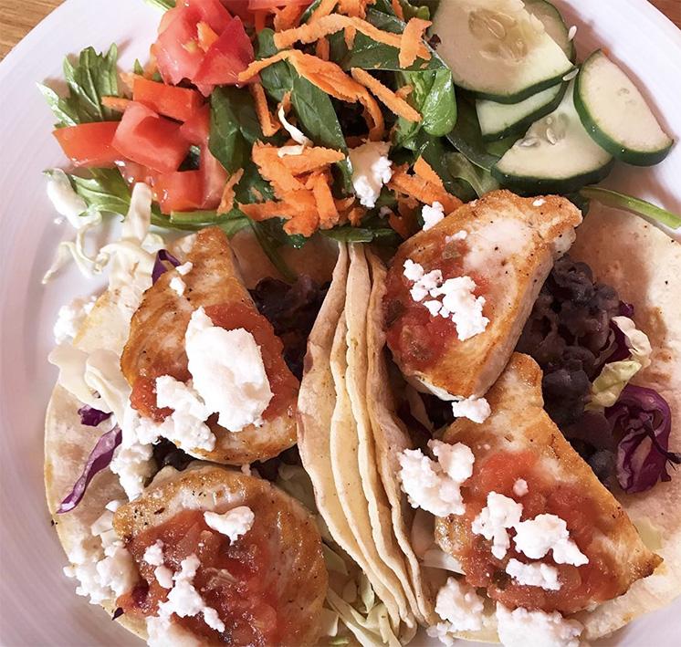 fresh catch fish tacos