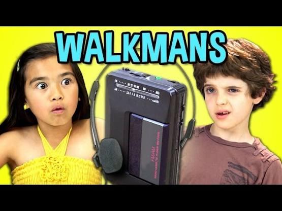 Kids React To – Walkmans