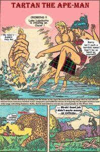 Tartan The Apeman Story1 Page 1a