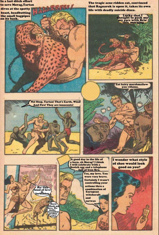 Tartan The Apeman Story1 Page unknown