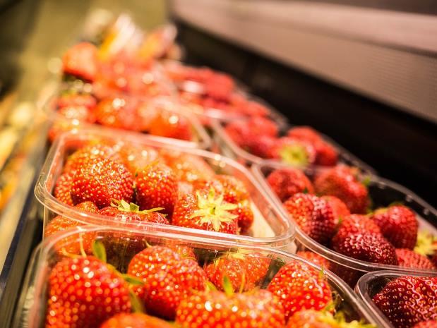 monkey pickles, daily peel, strawberries, fruit, haggle