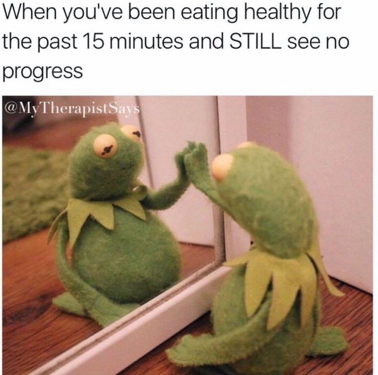 Eating Healthy Meme