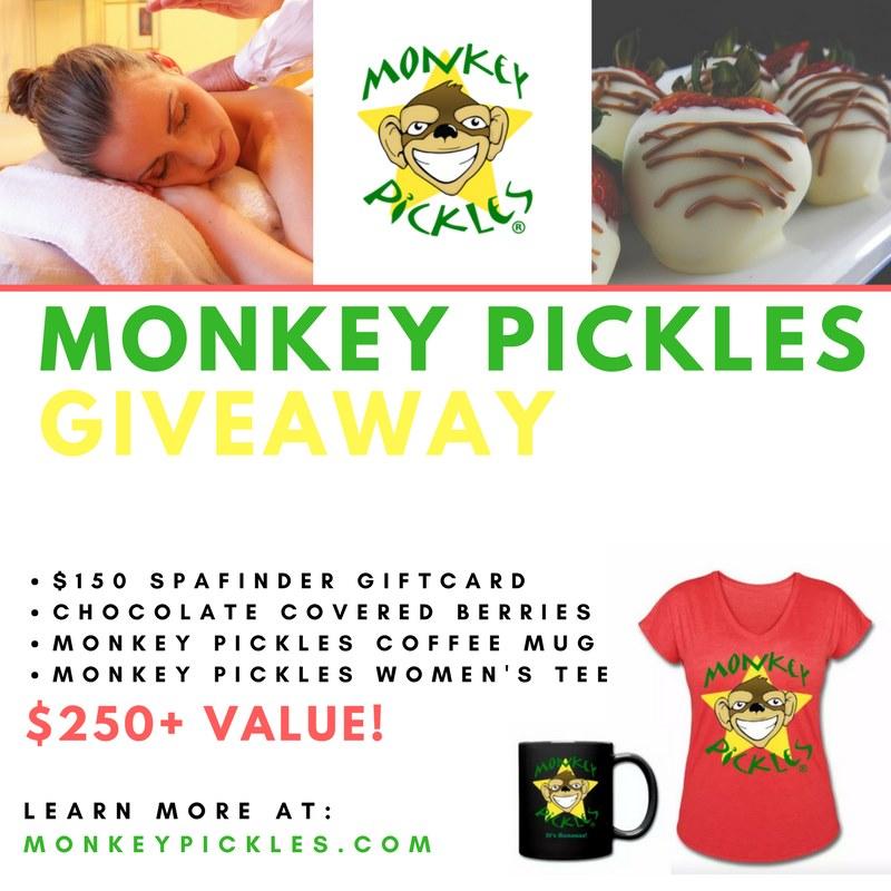 Monkey Pickles Ladies Giveaway