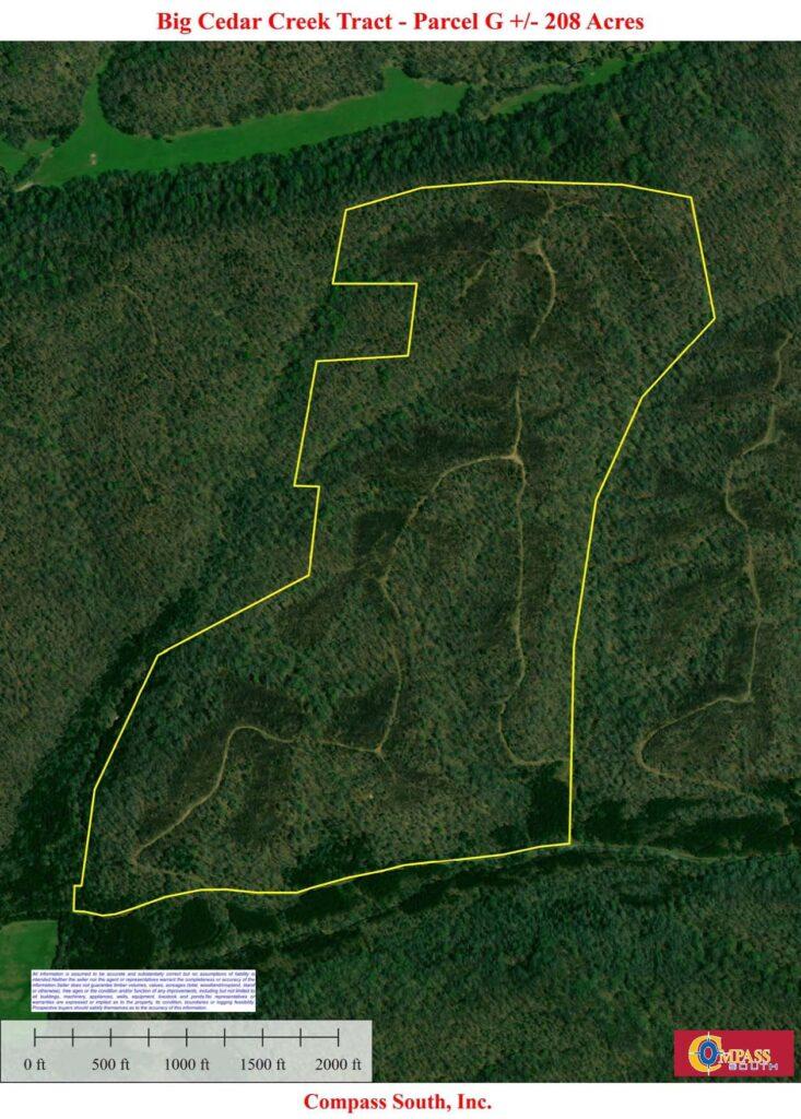Big Cedar G Aerial