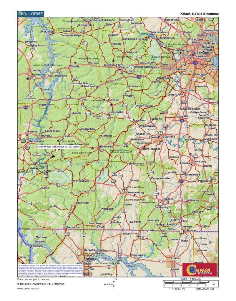 Little White Oak South Location 1