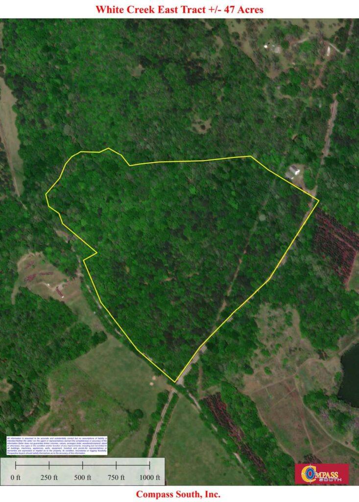 White Creek East Aerial