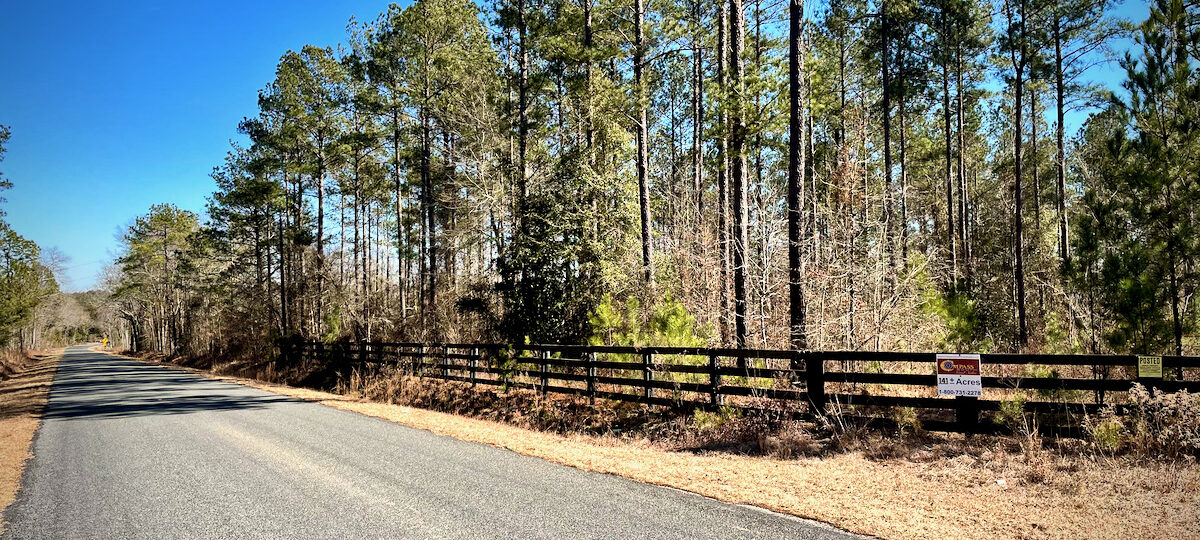 Wagener Trail Road Frontage