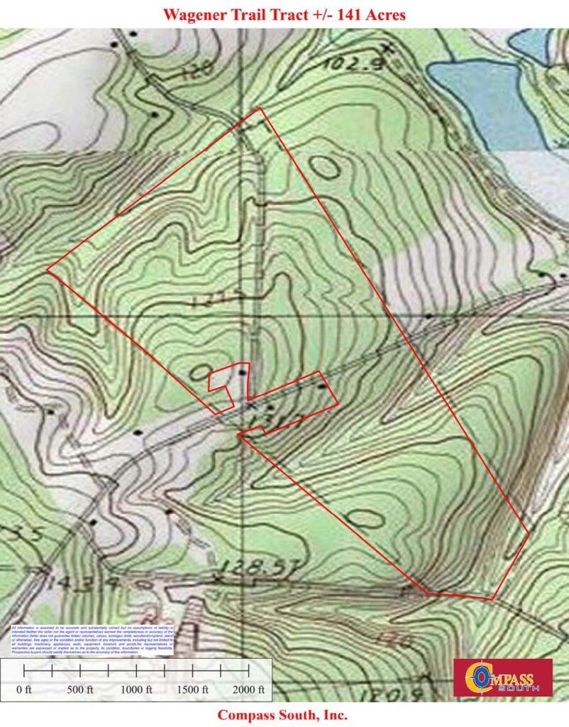 Wagener Trail Topo
