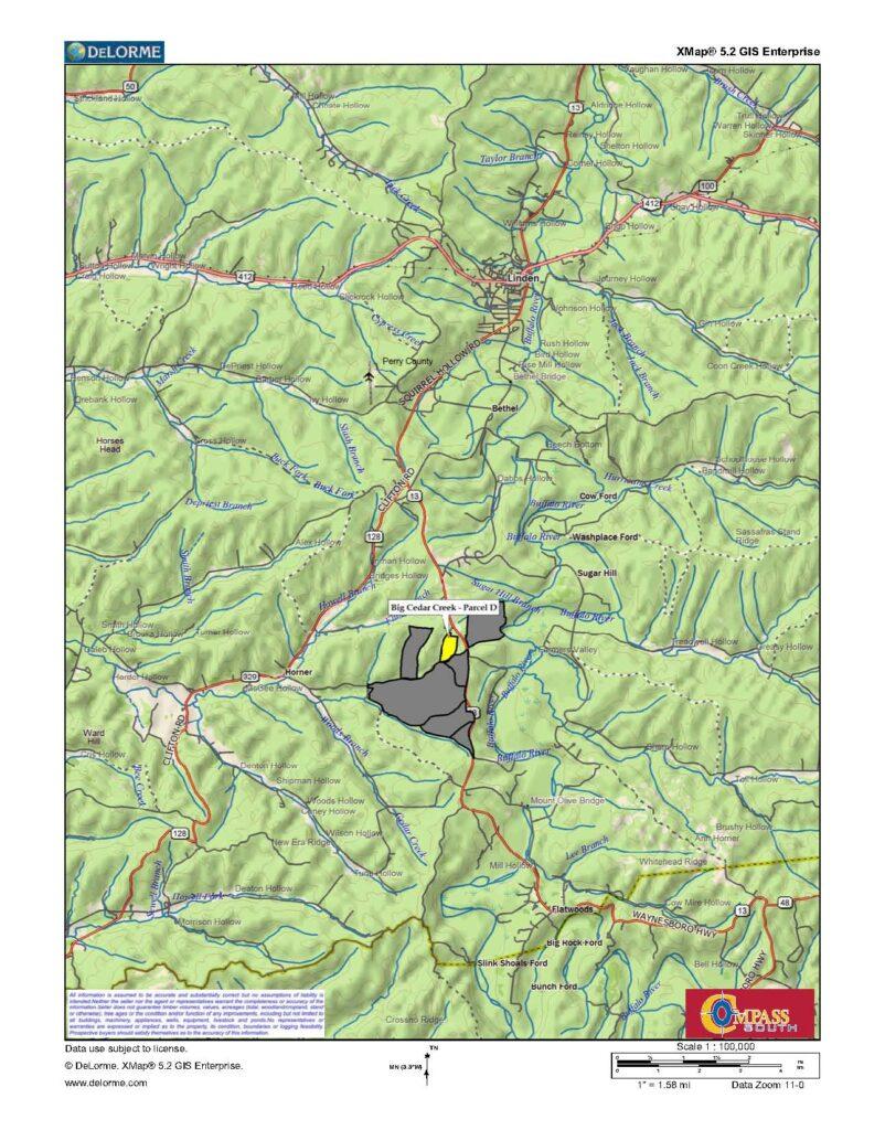 Buffalo River D Location 2