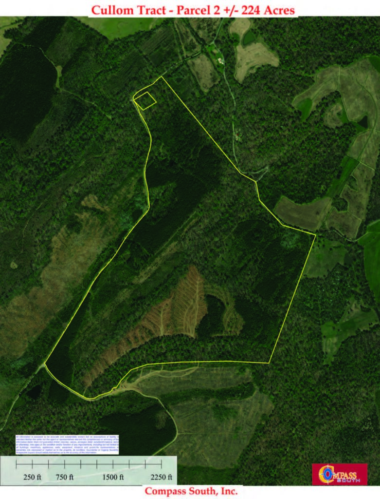 The Cullom Tract 2 Aerial Map